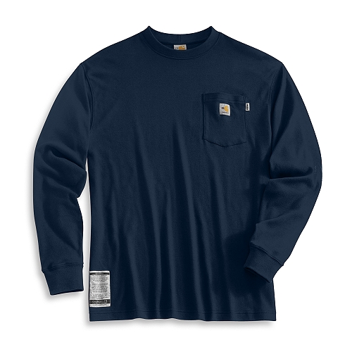 Carhartt Style #: FRK294 Men�s Flame-Resistant Long-Sleeve T-Shirt FRK294
